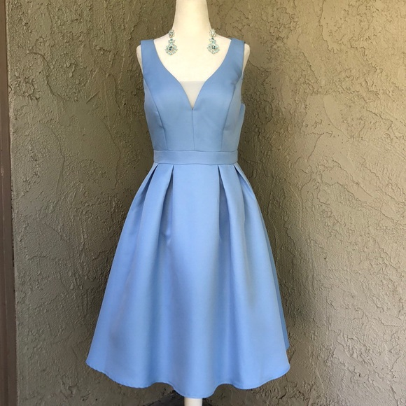 Periwinkle Party Dress